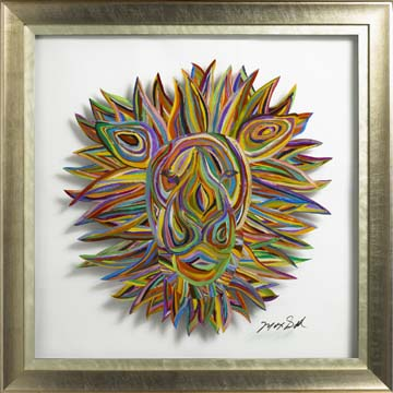 Max gold father of fusion art for Painting on glass windows with acrylics